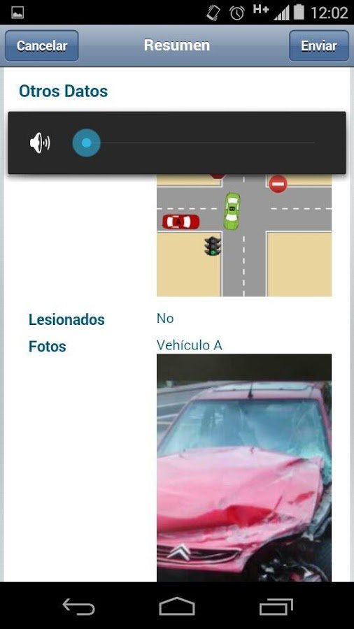 declaracion electronica de accidentes - movil